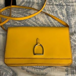 Ralph lauren maize crossbody